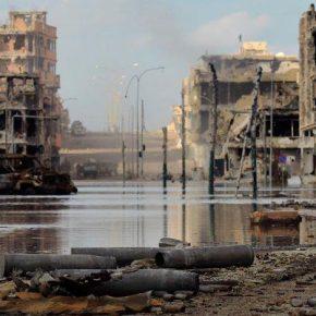 Libijska Syrta w gruzach po walkach z Państwem Islamskim