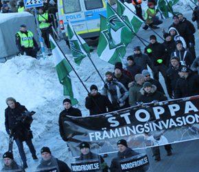 Szwecja: Listopadowe wydarzenia na scenie nacjonalistycznej