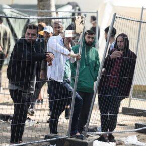 Imigranci uciekają z litewskich obozów