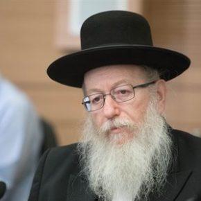 Rabin nie będzie już ministrem zdrowia Izraela