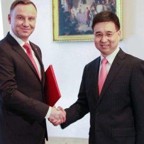 Ambasador Chin odpowiedział Mosbacher