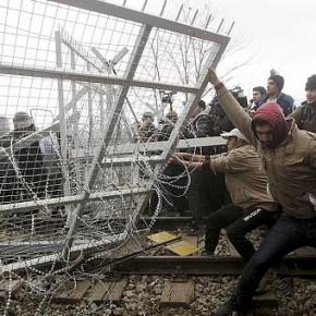 Imigranci szturmowali granicę Macedonii