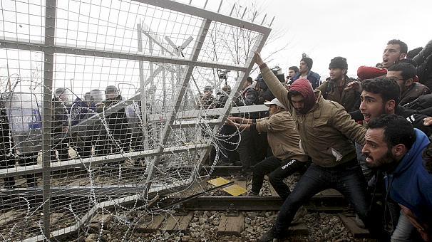 Imigranci dostali pomoc, ale uciekli
