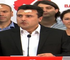 Politycy lewicy pobici w parlamencie Macedonii