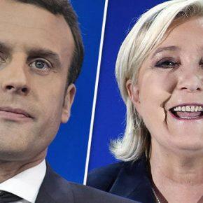 Macron i Le Pen w drugiej turze francuskich wyborów