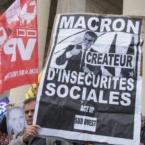 Francuzi wyszli na ulice przeciwko Macronowi