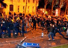 Hiszpania: protest przeciwko brutalności policji