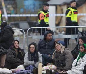 Szwecja: Zlikwidowano duży obóz cygański w Malmo