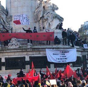 W Paryżu starli się demonstrujący Arabowie