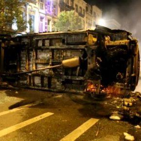 Marokańczycy zdemolowali centrum Brukseli (+WIDEO)