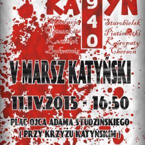 Kraków: V Marsz Katyński - zaproszenie