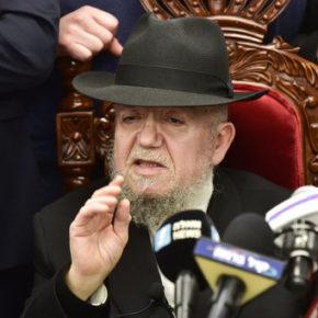 Rabin nazywa koronawirusa karą za parady homoseksualistów