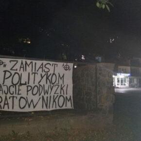 Autonomiczni nacjonaliści solidarni z ratownikami medycznymi