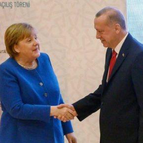 Erdoğan i Merkel otworzyli niemiecko-turecką szkołę
