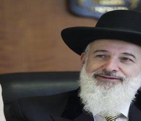 Były naczelny rabin Izraela skazany za korupcję