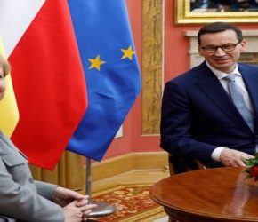 Morawiecki chce zbliżać Amerykanów i Europejczyków