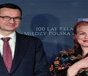 Morawiecki zachwala amerykańską ambasador