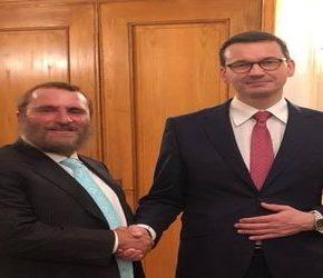 Morawiecki na koszernej kolacji dyskutował o zmianach w polskim prawie