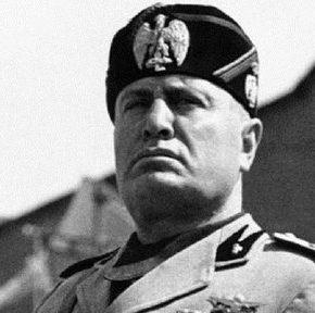 Lewicowy polityk chwali osiągnięcia Mussoliniego
