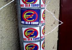 Polacy przeciwni wprowadzeniu waluty Euro