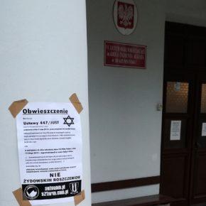 Białystok: Nacjonaliści przeciwko żydowskim roszczeniom
