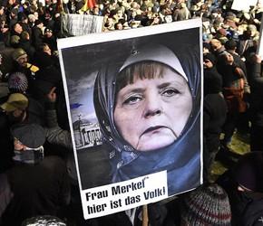 CSU zarzuca Merkel wzrost popularności Alternatywy dla Niemiec