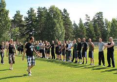 Szwecja: Obóz szkoleniowy nacjonalistów ze Szwedzkiego Ruchu Oporu