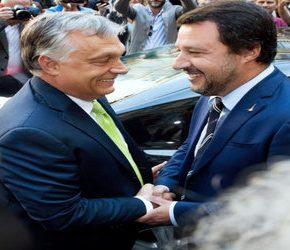 Salvini i Orban chcą zmieniać Europę