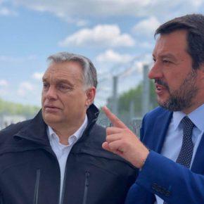 Salvini odwiedził Węgry