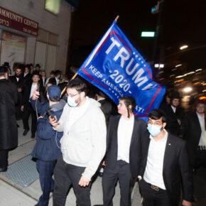 Ortodoksi protestują pod domem pobitego reportera