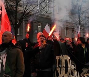 Czechy: Czesi, Słowacy i Polacy demonstrowali solidarność z Serbią