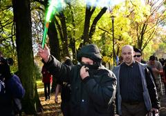 Czechy: Demonstracja przeciwko cygańskiej przestępczości i policyjnej brutalności
