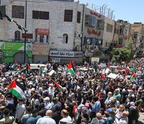 Palestyńczycy przeprowadzili strajk generalny