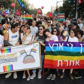 Rekordowy marsz homoseksualistów w Jerozolimie