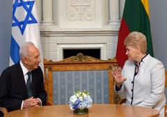 Ciepłe spotkanie prezydentów Litwy i Izraela