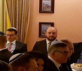 Politycy PiS-u na szabasowej kolacji