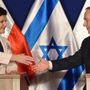 """Szydło o """"bliskości kulturowej"""" Polski i Izraela"""