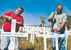 Zabójstwa na farmach na forum Komisji Praw Człowieka w RPA