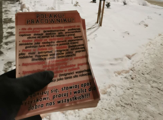 Białostoccy nacjonaliści za świadomością polskich pracowników