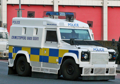 policelandrover
