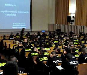 """Żydowskie Muzeum """"Polin"""" szkoli policjantów"""