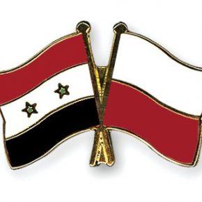 W Sejmie powstał zespół polsko-syryjski