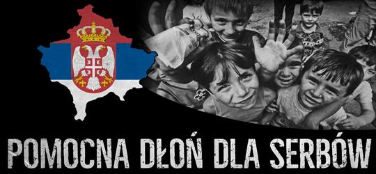 Pomocna dłoń dla Serbów - solidarnościowa akcja europejskich nacjonalistów