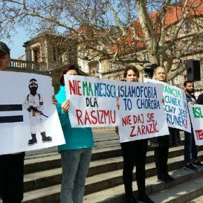 Muzułmanie demonstrowali w Poznaniu