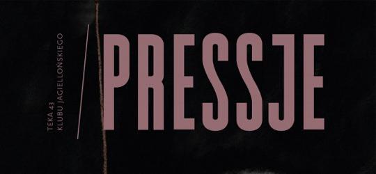"""""""Pressje"""" teka 43 (2016) - recenzja"""