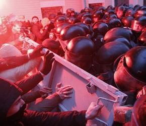 Protesty na Ukrainie okiem radykalnych nacjonalistów