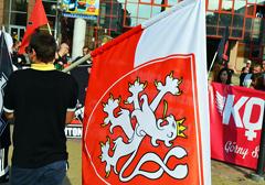 """""""Młodzież przeciwko totalitarnej demokracji"""": przemówienie nacjonalistów z Czech"""
