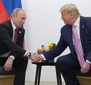 Trump i Putin rozmawiali w Japonii