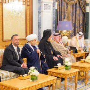 Saudyjski król ugościł wpływowego rabina