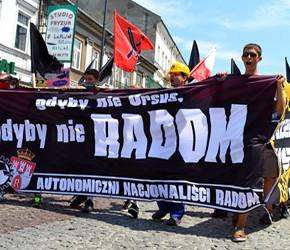 Radom: Kibice i nacjonaliści przypomnieli o Czerwcu'76